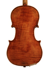 violin - Alessandrus Despine - back image