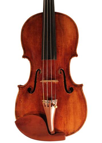 violin - Bernardus Calcanius - front image