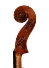 violin - Gagliano School - scroll image