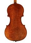 violin - Hendrik Jacobs - back image