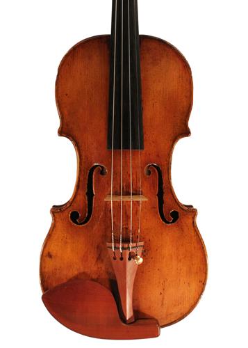 violin - Hieronymus Amati Girolamo II - front image