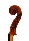 violin - Hieronymus Amati Girolamo II - scroll image