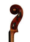 violin - Labeled Gioffredo Rinaldi - scroll image