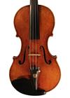 violin - Lorenzo Storioni del gesu Style - front image