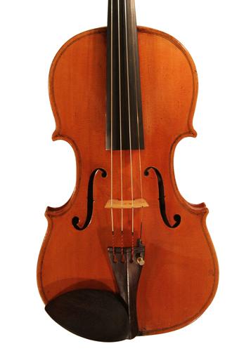 violin - Stefano Scarampella School - front image