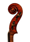 violin - W.E. Hill and Sons - scroll image